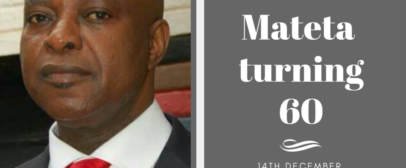Bishop Michael Mateta Turning 60